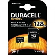 Duracell 128GB microSD Class 10 Kit (DRMK128PE)