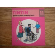 Tintin Painting And Drawing Book Cahier À Dessin 11