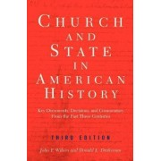 Church and State in American History by John Frederick Wilson