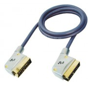 GR-Kabel PB-462 cable EUROCONECTOR cables EUROCONECTORES (10m, SCART (21-pin), SCART (21-pin)) Negro