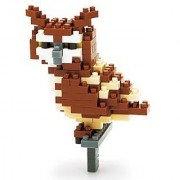 KAWADA NanoBlock Eagle Owl NBC-059