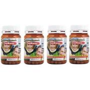 """4 Box Prosta Well Suplemento próstata con licopeno, Saw Palmetto (Serenoa Repens) ortiga, remedio natural para la salud y para combatir la """"inflamación. Envío rápido en toda Europa 4 paquetes de 60 comprimidos (un total de 240 tabletas)"""