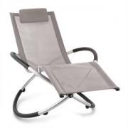 Blumfeldt Chilly Billy, szürkésbarna, kerti relax szék, alumínium (HMD1-Chilly-Billy-TP)