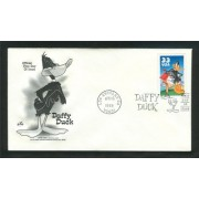 Daffy Duck Looney Tunes Art Craft First Day Cover Cachet 3306