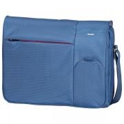 Geanta laptop, 15.6'', poliester, albastru, HAMA Messenger Marseille