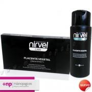 Ampollas anticaida Placenta Vegetal y Champu de Caida Pack