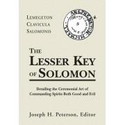 Lesser Key of Solomon Hb by Joseph Peterson