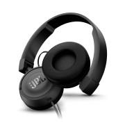 Casti on-ear JBL T450 cu microfon (Alb)