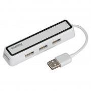 Hub USB Hama USB 2.0 4 porturi White