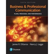 Business and Professional Communication: Plans, Processes, and Performance, Books a la Carte