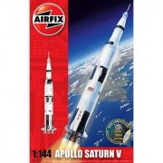 Airfix A11170 1:144 Scale Nasa Apollo Saturn V Rocket Model Kit