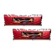 G.Skill G. Skill Ripjaws 4 Series F4–2666 C15d-8grr DDR4 2666 MHz mémoire Kit – Rouge