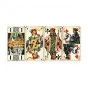 Ducale - Dos Ecossais Axe - Jeu De Carte - Tarot 78 Cartes