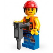 Lego - Mini Figures - The Movie - Gail the Construction Worker