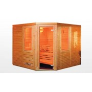 items-france KAJAANI - Sauna traditionnel 200x200x200 pour 4-5 personnes