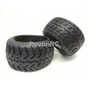 Generic BAJA 5B Rovan Rear Road 170x80 Tires Fits HPI Baja 5B SS King Motor Buggy