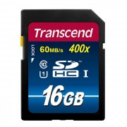 Transcend 16GB SDHC SD Mega Memory Card (Class 10 High Speed)