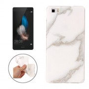 Huawei P8 Lite Marble Pattern Soft TPU Protective Case