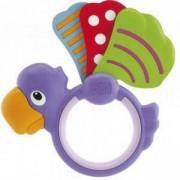 Бебешка дрънкалка Полка Дот - Папагалче, Chicco, 072250