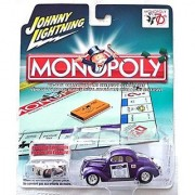 MONOPOLY JOHNNY LIGHTNING 37 FORD COUPE