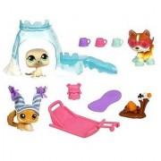 Littlest Pet Shop Arctic Adventure Playpack with 3 Pets