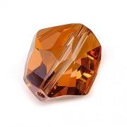 Perle swarovski cristal swarovski cosmic 2213286 copper cristal 16 mm
