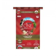 Purina ONE SmartBlend Lamb & Rice Formula Adult Premium Dry Dog Food, 16.5-lb bag