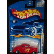 2002 First Editions -#12 1940 Ford Coupe #2002-24 Collectible Collector Car Mattel Hot Wheels 1:64 Scale by Hot Wheels