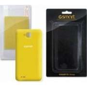 Skin Gigabyte Various GSmart Rio R1 Galben cu folie ecran