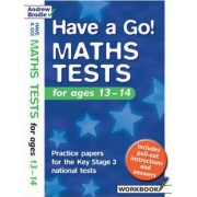 Have a Go Maths Tests: Practice Papers for the Key Stage 3 National Tests by Andrew Brodie