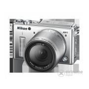 Aparat foto Nikon AW1 Adventure kit (obiectiv AW 11-27 mm), silver