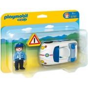 Playmobil 6797 1.2.3 Politiewagen met agent