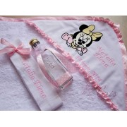Trusou botez Baby Minnie Mouse personalizat