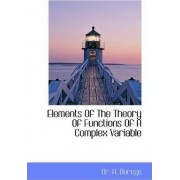 Elements of the Theory of Functions of a Complex Variable by H Durege