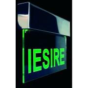 Corp EXIT pentru iluminat de urgenta cu acumulator incorporat