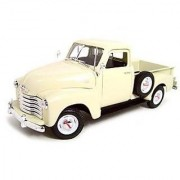 1953 CHEVROLET 3100 PICKUP CREAM 1:18 DIECAST MODEL by Welly