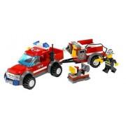 LEGO City Off-Road Fire Rescue 130pieza(s) - juegos de construcción (Multi)