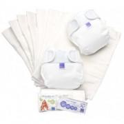 Bambino Mio Miosoft Nappy Set Size 2 White