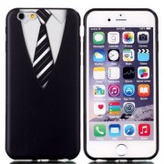 iPhone 6(S) Plus (5.5 inch) TPU Cover, hoesje, case met Pak met stropdas