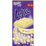Milka Ciocolata Alba Luflee 100g