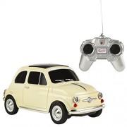 Rastar - Fiat 500L, coche teledirigido, escala 1:24, color blanco (ColorBaby 41139)