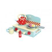 Le Toy Van Tv297 Honeybake Piccolo Camper Cucina In Legno