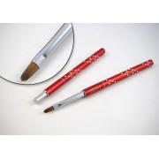 Designer Brush - Crystal Collection, ovala, marimea 6, art. nr.: 40020