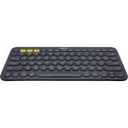 Tastatura Bluetooth Multi-Device Logitech K380 dark grey