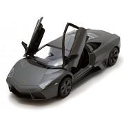 Lamborghini Reventon, Metallic Black - Motormax 73364BK - 1/24 Scale Diecast Model Toy Car