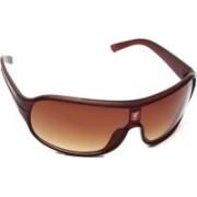 Liverpool FC Wrap-around Sunglasses(Brown)