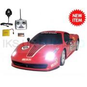Radio Remote Control Ferrari 458 Race Car RECHARGEABLE 20KPH .