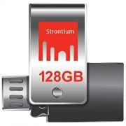 Strontium SR128GSLOTG1Z Nitro Plus OTG Pen Drive, USB3.0, 128GB