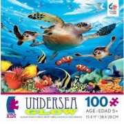 Ceaco Undersea Glow Journey of The Sea Turtles Jigsaw Puzzle