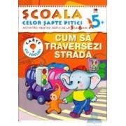 5+ Cum sa traversezi strada - Activitati pentru copiii de la 5 la 6 ani